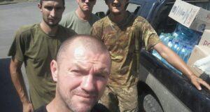 З Тернополя до Луганщини! Волонтери відвідали селище Золоте.