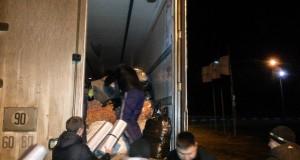 Двадцятип'ятитонний гуманітарний вантаж з Жовківщини відправився в бойові табори ДУК