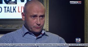 """Гість ток-шоу """"Люди. Hard Talk. LIVE"""" Дмитро Ярош"""