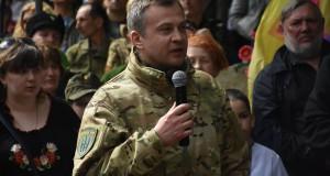 «Українська добровольча армія сьогодні залишилися єдиним чисельним добровольчим формуванням на передовій», – начштабу УДА Сергій Ільницький