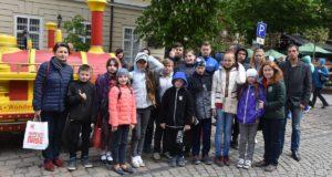 ДІЯ організувала екскурсію Львівщиною для дітей загиблих та поранених добровольців
