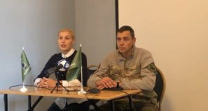 Представлення Київського осередку «Об'єднання добровольців»