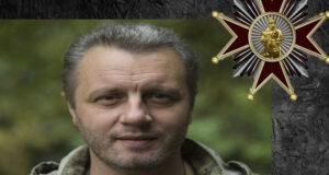 «Об'єднання добровольців» відзначило Орденом Добровольця Сергія Васильєва.
