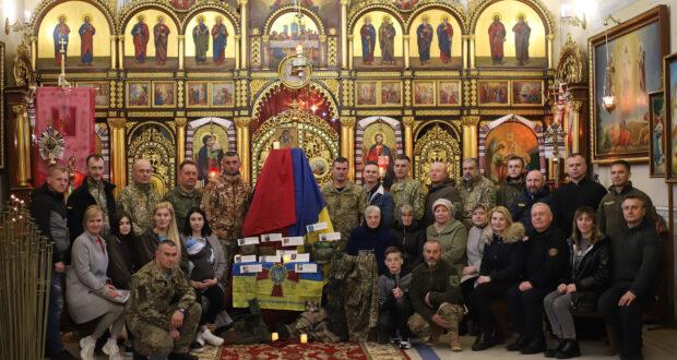 У Храмі Благовіщення на Львівщині ветерани пройшли Хресну Дорогу з війни.