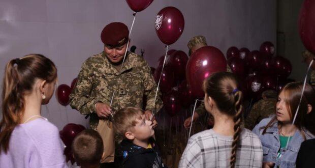День сім'ї для львівських десантників, які повернулися з ООС.